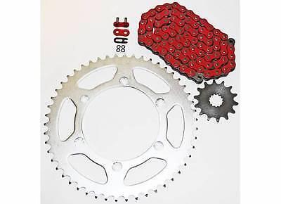 2003-2004, 2007-2014 Yamaha Yz450 F Red O Ring Chain And Sprocket 14/52 120L
