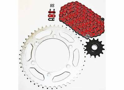 2001-2007 Suzuki Dr-Z250 Red O Ring Chain And Sprocket 13/49 520-112L
