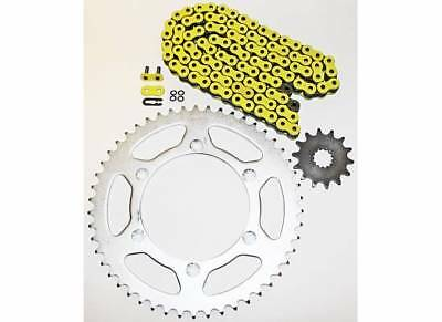 1999 Yamaha Yz400F Yz 400 F Yellow O Ring Chain And Sprocket Kit 13/52 120L