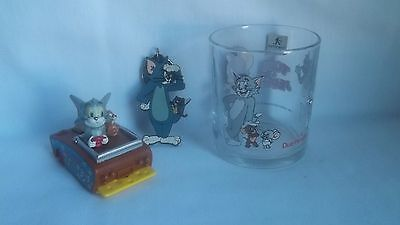 Tom and Jerry Glass, Key Chain and Car