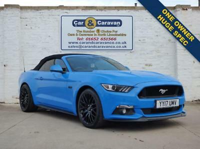 2017 17 Ford Mustang 5.0 Gt Convertible
