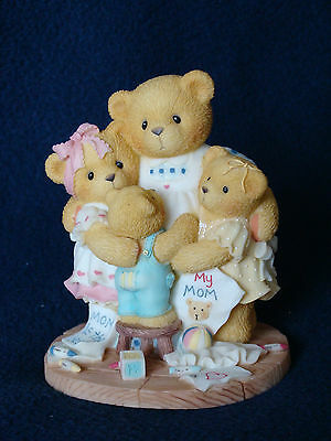 Cherished Teddies - Katie, Renee, Jessica And Matthew -Mom With Children- 538299