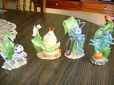 "4 Porcelain Charactors From ""its A Bugs Life"""