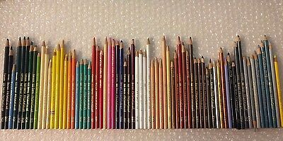 Set 70 VTG Thick Leads Berol Prismacolor Colored Pencils Crayons #PC 900 Series