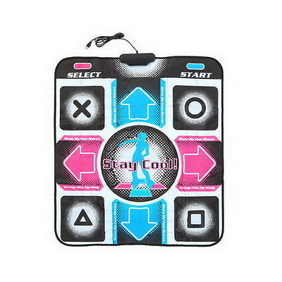 Non-Slip Dancing Step Dance Mat Pad Pads Dancer Blanket to PC with USB New XP