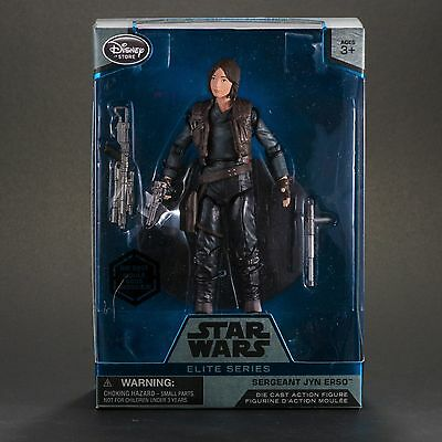 """JYN ERSO - 6"""" Inch ELITE SERIES Disney Star Wars Rogue One Action Figure - New!"""