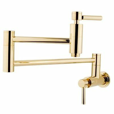 KNGB-KS8102DL-Kingston Brass KS8102DL Concord Pot Filler , Polished Brass