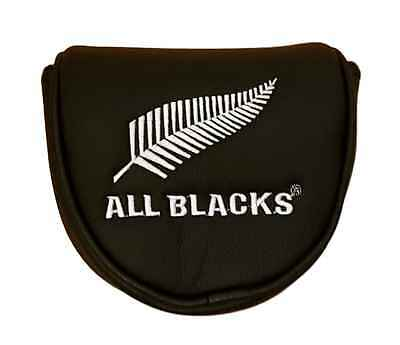 All Blacks Mallet Putter Cover - Official Licensed Rugby Union Product - New!