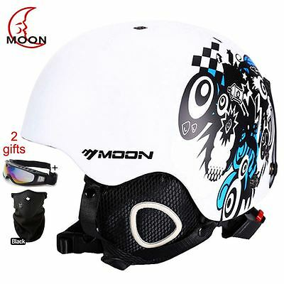 MOON Skateboard Ski Snowboard Helmet Integrally-molded Ultralight Breathable Ski