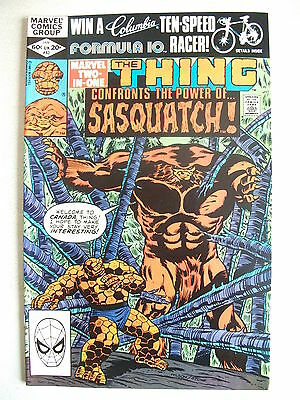 Marvel Two In One # 83 (The Thing & Sasquatch!, Jan 1982), Vf/nm