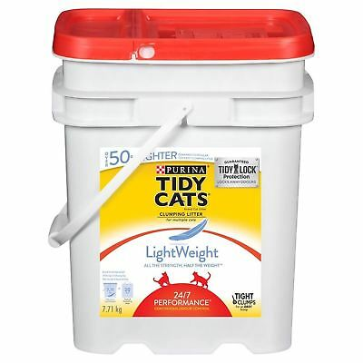 Purina Tidy Cats Light Weight 24/7 Performance Clumping Cat Litter For Multiple