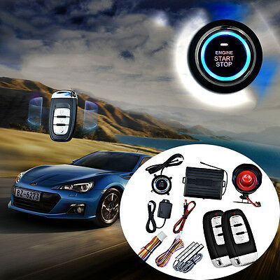 Unique Car Vibration Alarm Security Syetem and Remote Start System Kits UC913