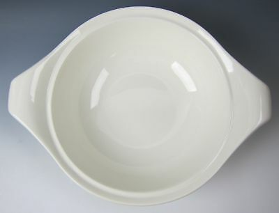 Steubenville/Russel Wright AMERICAN MODERN-WHITE  Round Cov. Veg. Bowl NO LID EX