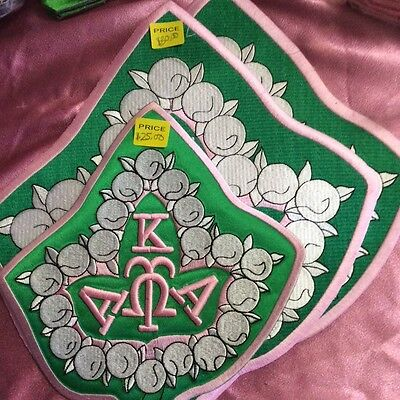 Alpha Kappa Alpha 20 Pearl Patch