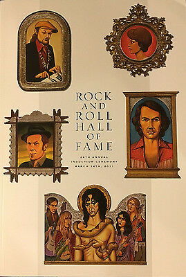 2011 Rock And Roll Hall Of Fame Induction Program ALICE COOPER KISS 28th ANNUAL