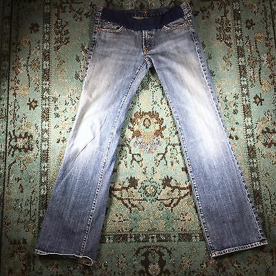 Seven 7 For All Mankind Maternity Denim Bootcut Jeans 30