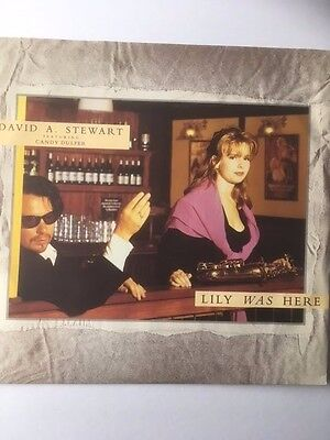 "David A Stewart Candy Dulfer 12"" - Lily Was Here / Lily Robs The Bank - Zt 43046"