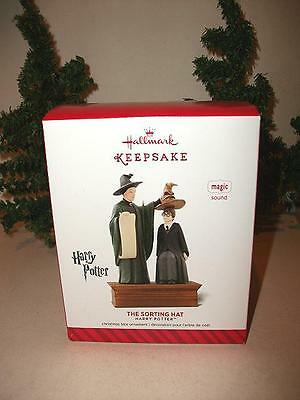 Hallmark Keepsake Ornament The Sorting Hat Fm Movie / Book Harry Potter Dialogue