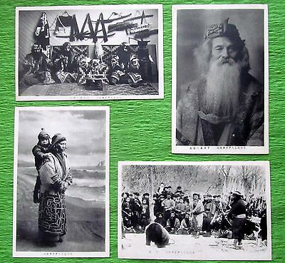 Ainu The Indigenous People Of Northern Japan Antique Postcards pre-1945,3