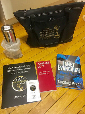 2017 Official 60th EMMY AWARDS Academy of Arts sciences Gala GIFT BAG SWAG May 6
