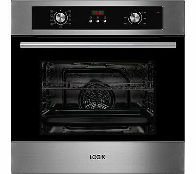 LOGIK LBMFMX15 Electric Oven Stainless Steel