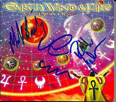 Earth Wind and Fire signed The Promise cd
