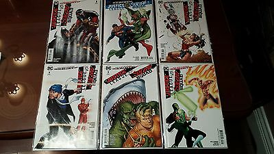 JUSTICE LEAGUE VS SUICIDE SQUAD #1 2 3 4 5 6  All VARIANT COVER Set of comic NM