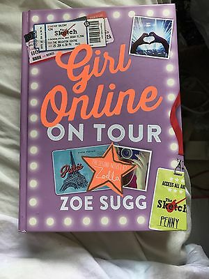 Zoella Girl Online On Tour Signed