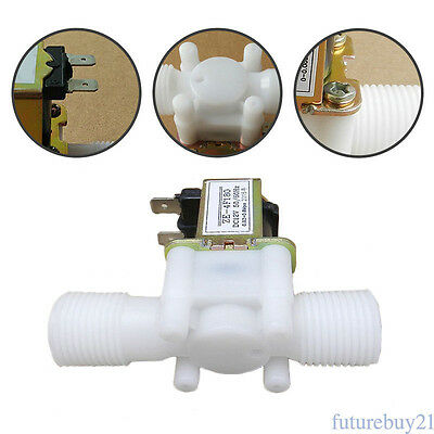 """1/2"""" Electric Solenoid Valve For Water Air N/C Normally Closed DC 12V Hot FT4"""