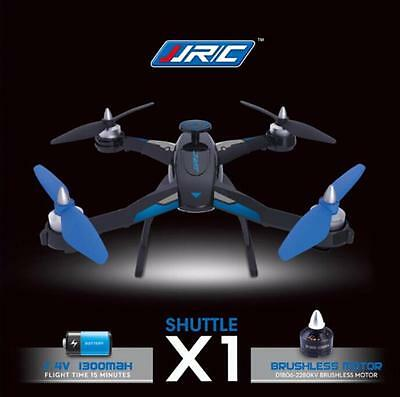 JJRC X1 With Brushless Motor 2.4G 4CH 6-Axis RC Quadcopter RTF (Blue)