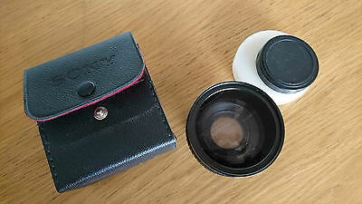 Sony wide angle conversion lens x0.7 VCL-0746A used excellent. 46mm screw fit