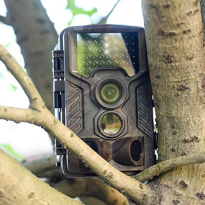 H801W Hunter Camera 1080P 20M IR Scouting Trail Security Cam for Camping Outdoor