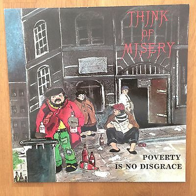 Think Of Misery ‎– Poverty Is No Disgrace - Metal Enterprises ‎– ME 518 - MINT