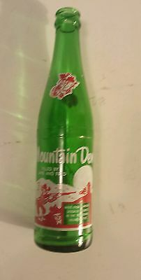 "Rare (Style#1-One Side) Canadian ""mountain Dew"" 10 Oz ""filled By Jane & Fred"""