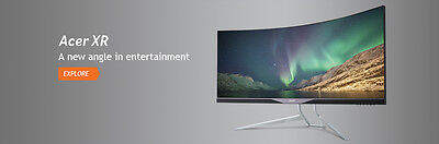 Acer XR34 Monitor widescreen 3440x1440 5ms 75hz
