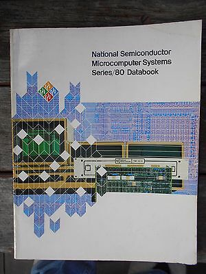 National Semiconductor Microcomputer Systems Series/80 Databook