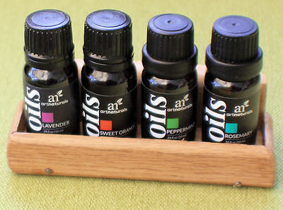 Aroma Oils Set Specially Selected for Sauna Users,4 oils + free Pine rack