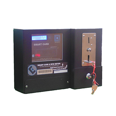 Coin Prepayment Electricity Meter- Accepts New and Old Pound Coins