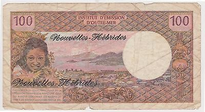 (N2-44) 1960 French Novellas 100 Franks Bank note (A)