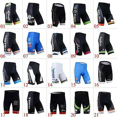 New Fashion Mens Cycling Shorts Padded Lycra Road Bike Wear Bicycle Pants Tights