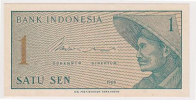 (N2-95) 1964 Indonesia 1 SEN bank note (P)