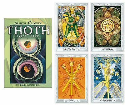 "BRAND NEW Aleister Crowley ""Thoth"" Tarot Deck Plus Instruction Booklet"