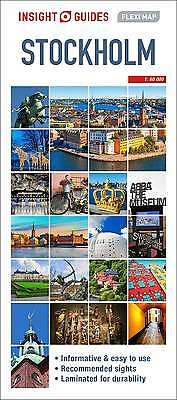Insight Flexi Map: Stockholm, APA Publications Limited, New Book