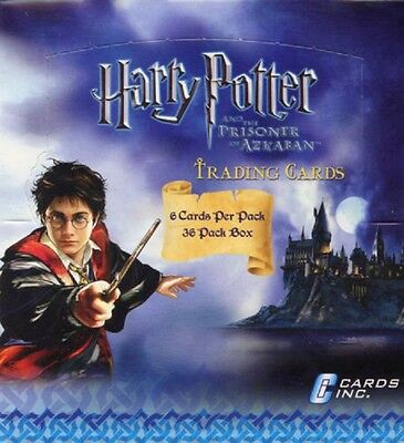 12 Boxes x HARRY POTTER AND THE PRISONER OF AZKABAN CARDS INC WAX BOX 432 packs