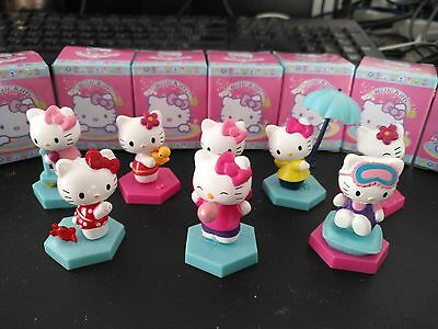 11pcs 3/'/' Hello kitty Anime action figure PVC Toys KT park Gifts