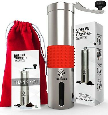 Coffee Grinder Manual : Professional and Portable Coffee bean Grinder with He...