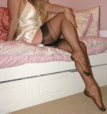 Eleganti RHT Stockings / Nylons - ESPRESSO imperfects - All Sizes