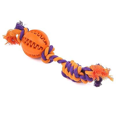 Pawaboo Dog Ball Toy with Dental Chew Rope