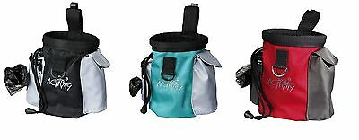 Trixie 2 In 1 Dog Puppy Training Snack Bag & Poo Bag Holder Treats Walking 32283