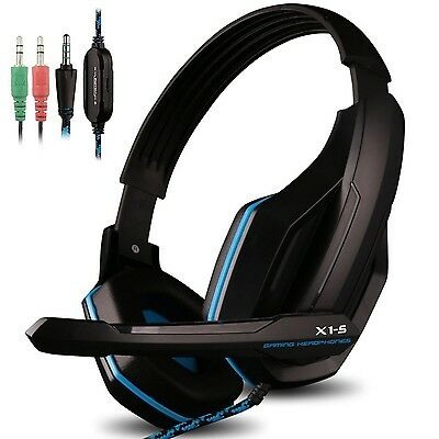 Gaming Headset for PS4 PC iPhone Smart Phone Laptop Tablet iPad iPod Mobileph...